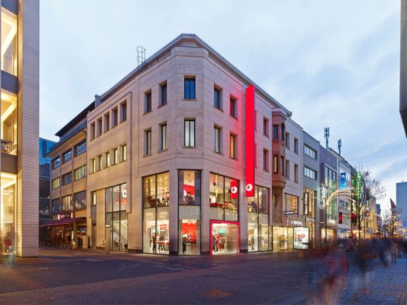 Neues PoS-Konzept - Vodafones Kölner Flagship Store (Foto: Vodafone)