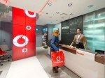 Kassenbereich im Kölner Vodafone Flagship Store (Foto: DIDAS)
