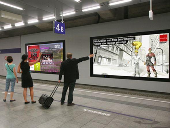 Mit ZiiCONad ist eine neue AR-Anwendung am Bahnhof Wien verfügbar (Foto: ÖBB Werbung)
