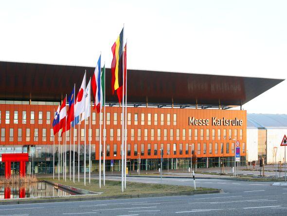 Die Nähe zu Frankreich und der Schweiz sowie die in der Region beheimatete ITK-Industrie machen den Messestandort attraktiv (Foto: Messe Karlsruhe)