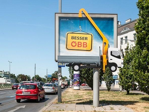 ÖBB-Nutzer können ihre Wagen besser in der Garage lassen (Foto: Gewista)