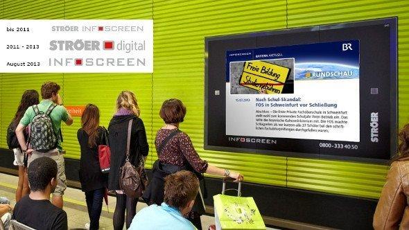 Aus Ströer Digital wird wieder Infoscreen