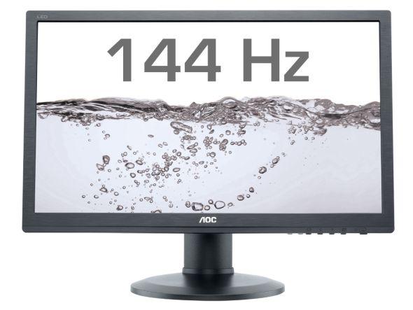 Das AOC-Modell g2460Pqu kommt mit 144 Hz Bildwiederholrate (Foto: AOC)