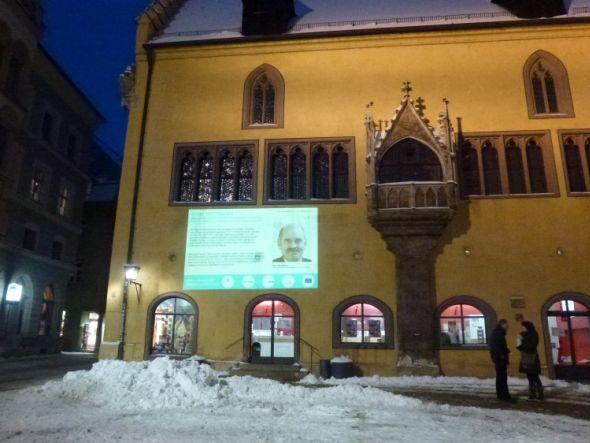 Auftakt für die 365 Tage dauernde Aktion im Januar in Regensburg (Foto: CeBB)