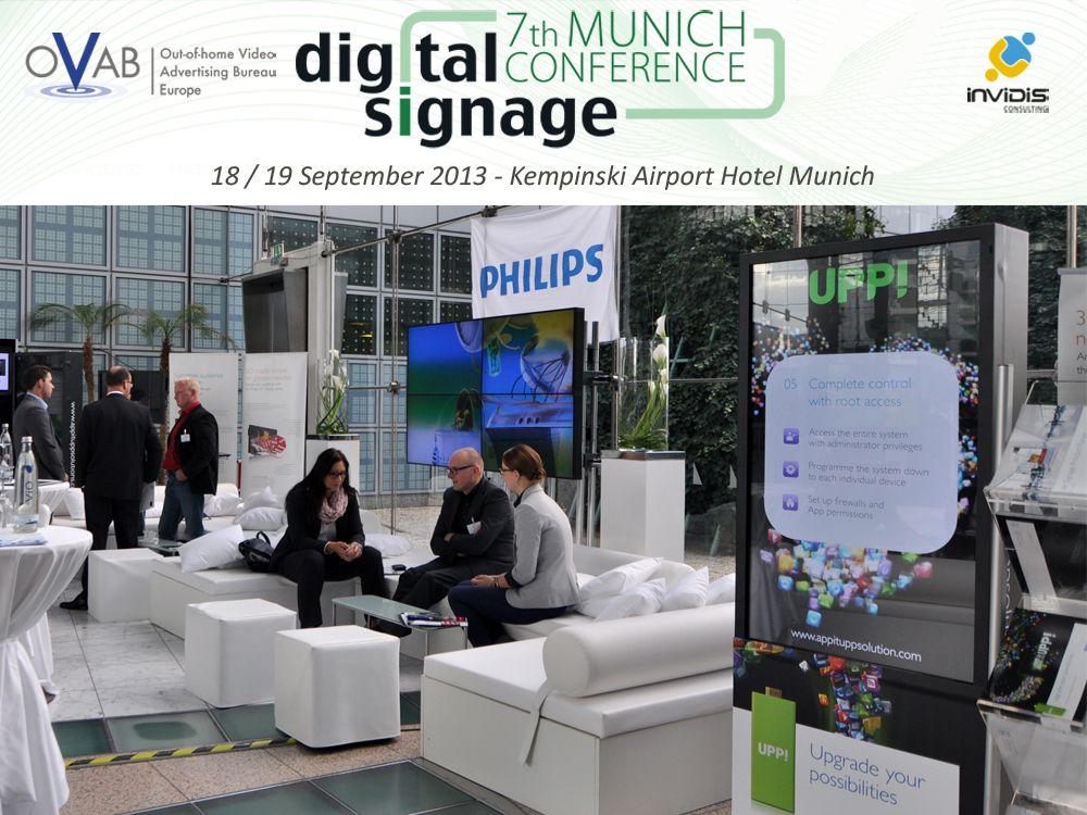 MMD / Philips Public Solutions wieder als Aussteller auf der OVAB Digital Signage Conference Munich