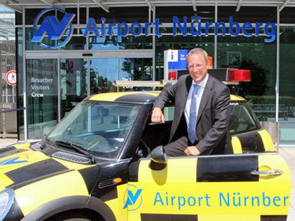 Hebt von Dresden in Richtung Nürnberg ab: Dr. Michael Hupe (Foto: Flughafen Nürnberg)