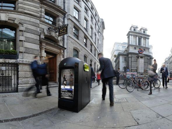 Abgeschaltet: Renew Pod im Londoner Straßenbild (Foto: Renew)