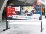Plakat-Motiv der Kampagne (Foto: TBWA Zürich)