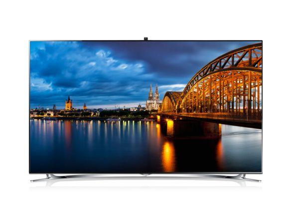 Der Smart TV UE55F8090 wurde jetzt von der EISA prämiert (Foto: Samsung)