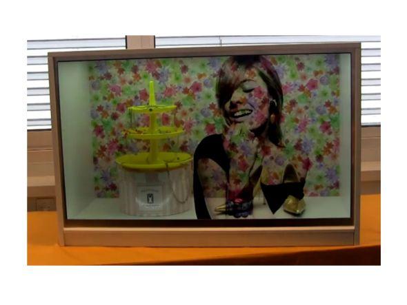 Transparentes LCD-Display von Media Solutions (Screenshot: invidis.de)