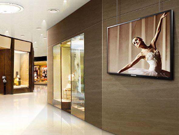 SoC-Display von Samsung im Einsatz (Foto: Samsung)