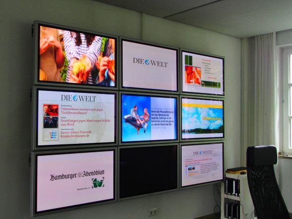 Zentrale in Freising: laufendes Programm der Contentpartner (Foto: TK/ invidis.de)