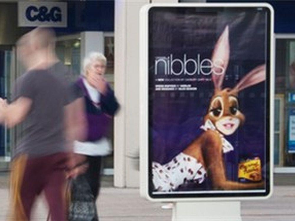 Weitere Einkaufszentren erhalten Digital Signage - Airpod Media-CLP an einer Shopping Mall (Foto: Airpod Media)
