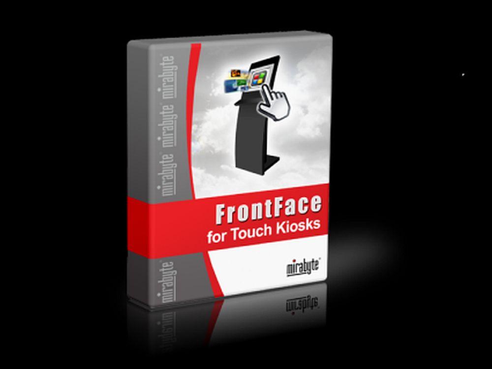 FrontFace for Touch Kiosks wird auf der Viscom gezeigt (Foto: mirabyte)