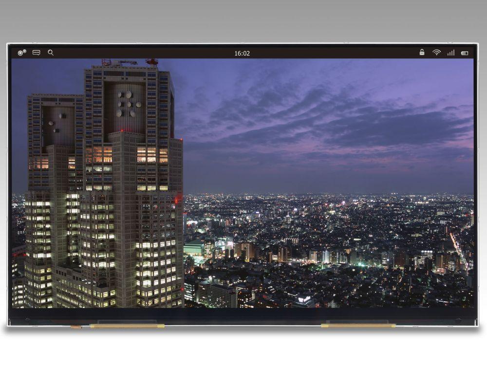 Das 4K-Panel von JDI arbeitet mit LTPS (Foto: Japan Display Inc.)