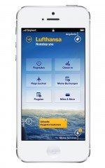 Die App für Lufthansa hält mobile Services und Informationen bereit (Foto: Sapient Nitro)