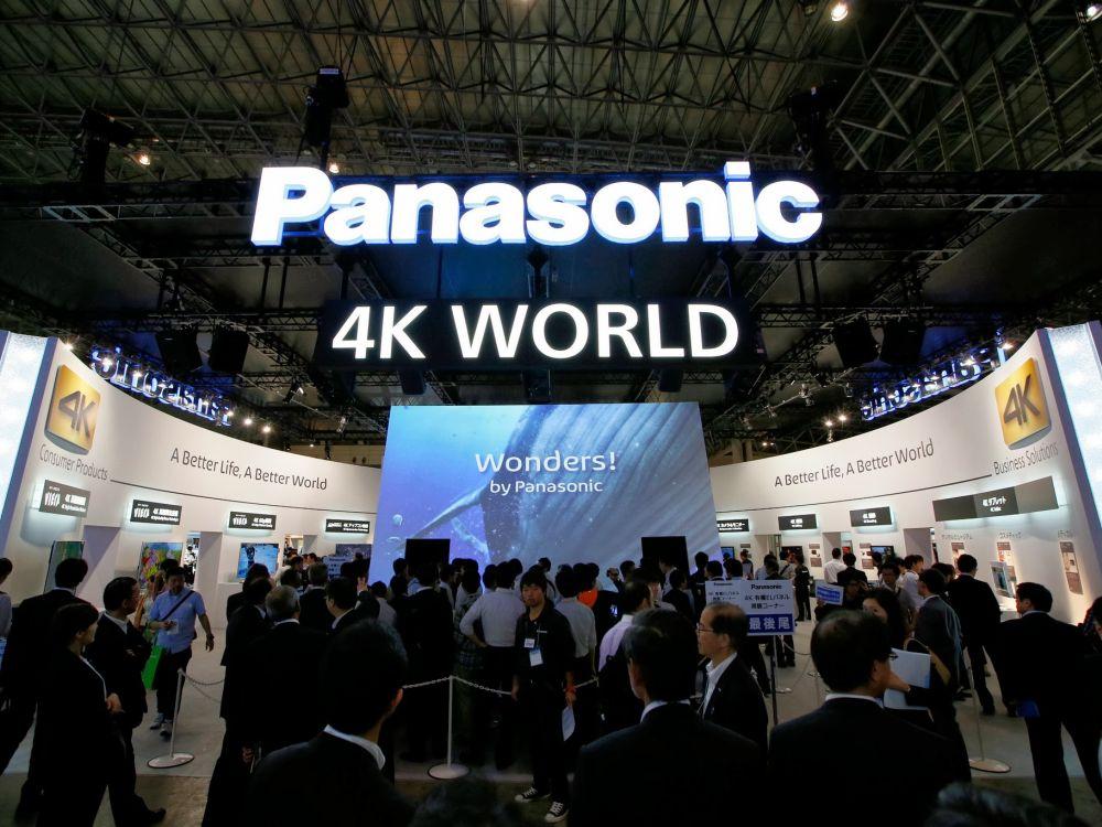 Von Plasma sind keine Wunder mehr zu erwarten - erher schon von 4K LED TVs: Panasonic-Stand auf der japanischen World Createc 2013 (Foto: Panasonic)
