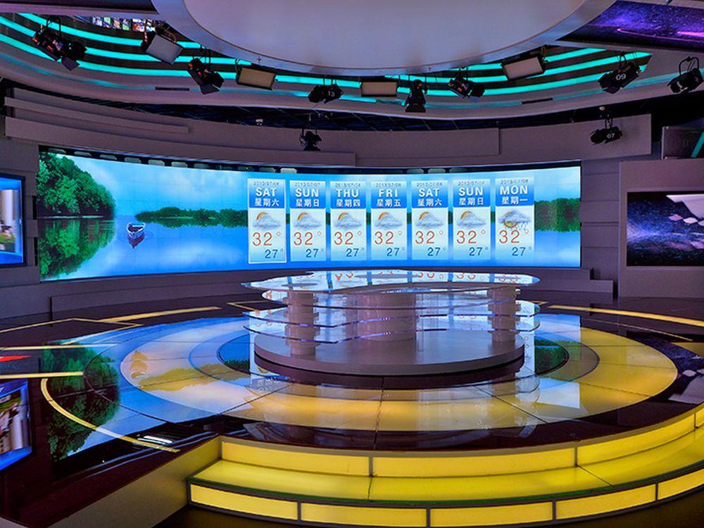 Auch bei Beijing Television Network versieht nun eine LPD Wall ihren Dienst (Foto: Prym)