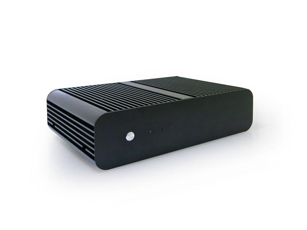 Lüfterloser SSD-Rechner: der Silent-PC 526 (Foto: CONCEPT International)