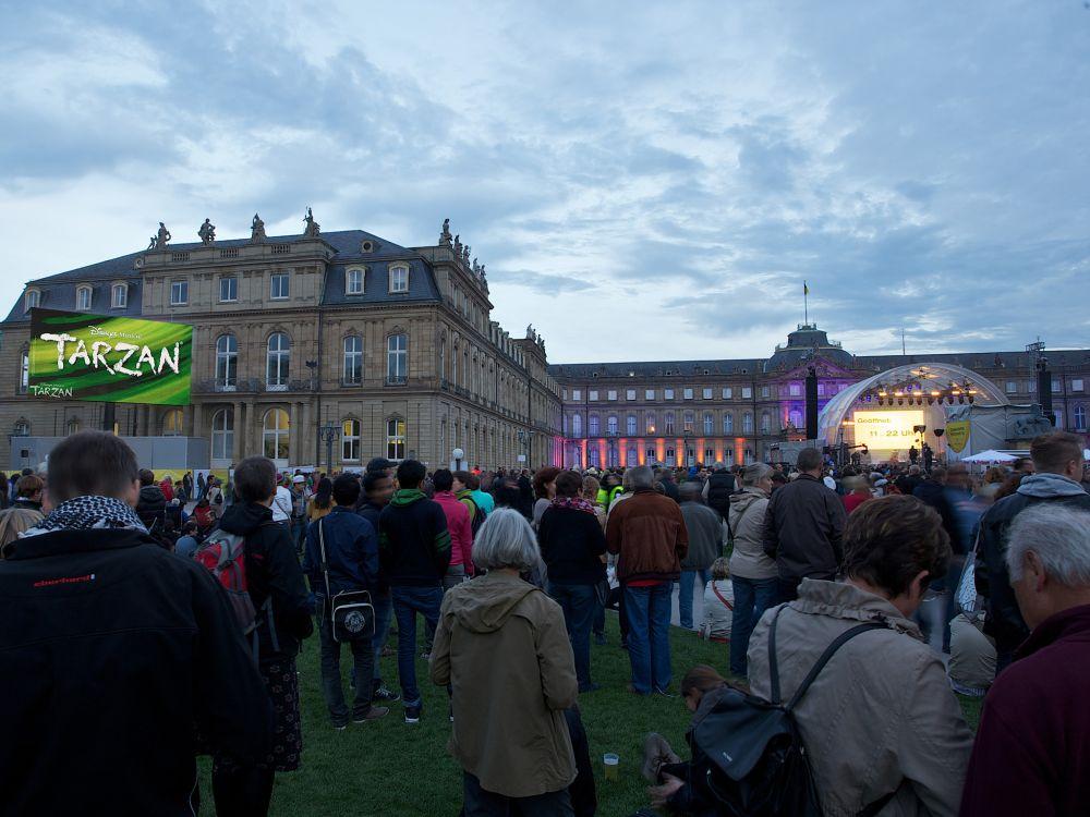 Am Tag der Deutchen Einheit fand das Bürgerfest in Stuttgart statt (Foto: Screen Visions)