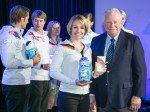 Das Team Galaxy mit Magdalena Neuner im Vordergrund (Foto: Samsung)