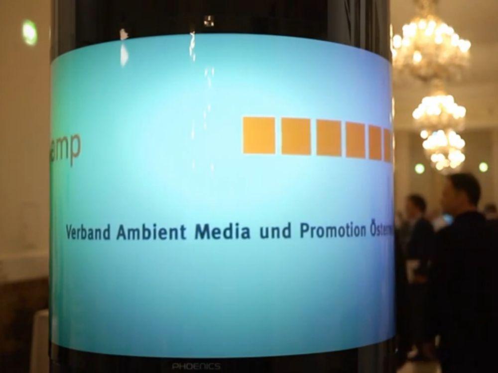 In Wien fand nun die Preisverleihung des VAMP 2013 statt (Foto: Verband Ambient Media und Promotion Österreich)