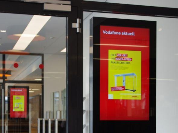 Kantinenstele bei Vodafone (Foto: Vangenhassend)