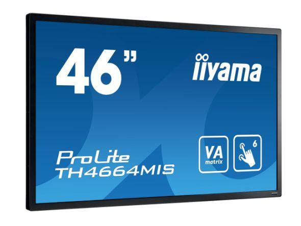 iiyamas ProLIte TH4664MIS-B1 kommt mit Touch-Funktionalität (Foto: iiyama)