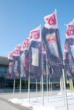 Flagge zeigen: In der Messe Stuttgart findet schon bisher die wetec statt - die Fachmesse für Werbetechnik, Digitaldruck und Lichtwerbung (Foto: WNP Verlag)