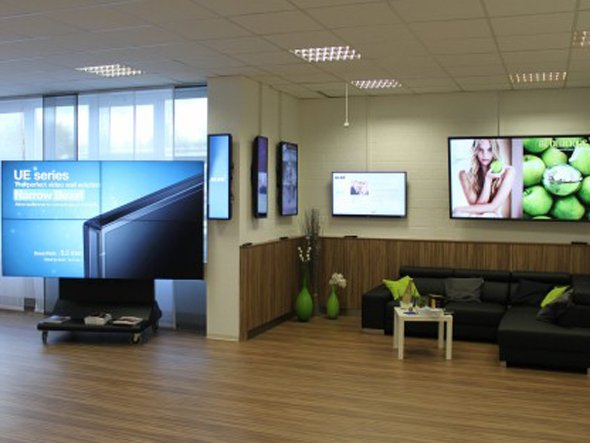 ALSO Digital Signage Showroom in Soest.