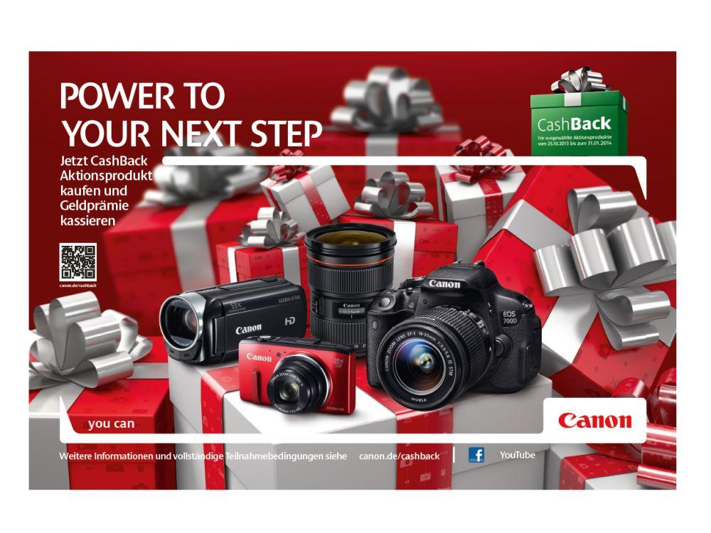 Canon-Weihnachtskampagne 2013: Zielgruppe wird mit Außenwerbung und am PoS umworen (Foto: OMD)
