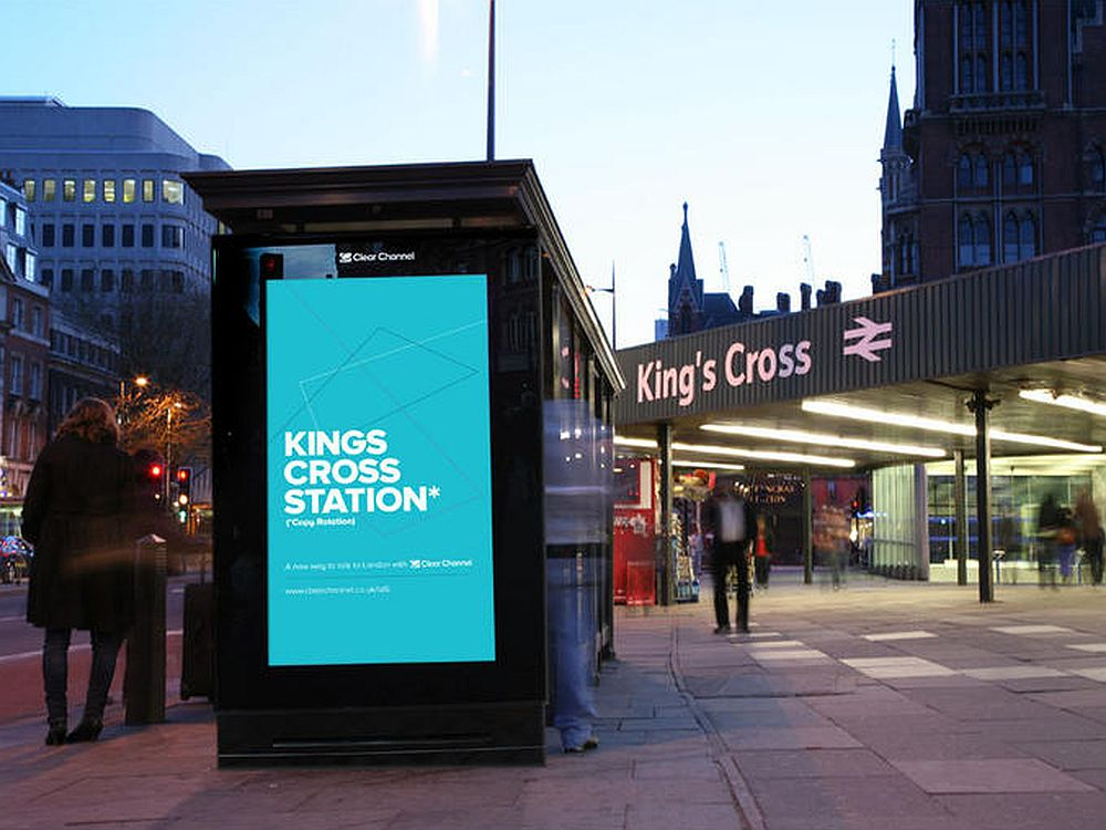 Digital Signage boomt weltweit - Digital 6 Sheet in London (Foto: Clear Channel UK )