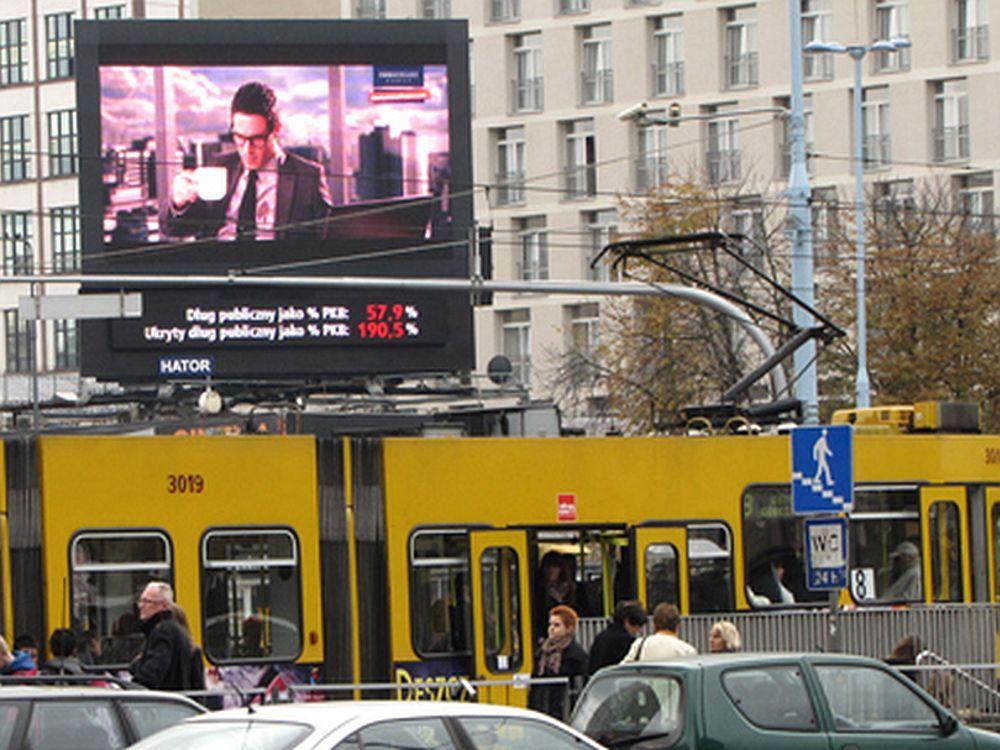Deutsche Finanzbranche kommuniziert nicht optimal - Positives Beispiel aus Österreich: DooH-Kampagne für Immofinanz (Foto: Goldbach Interactive Austria)