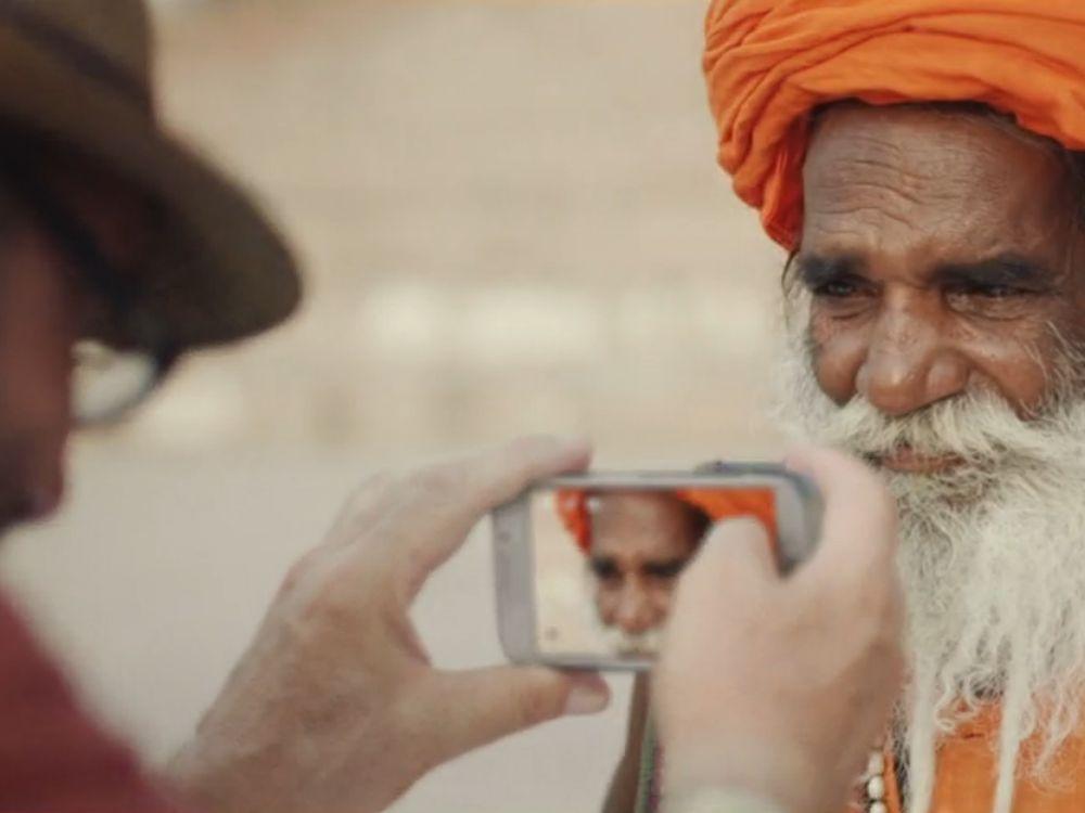 """""""Launching People - weltweite Samsung-Kampagne stellt Menschen in den Vordergrund (Screenshot: invidis.de)"""
