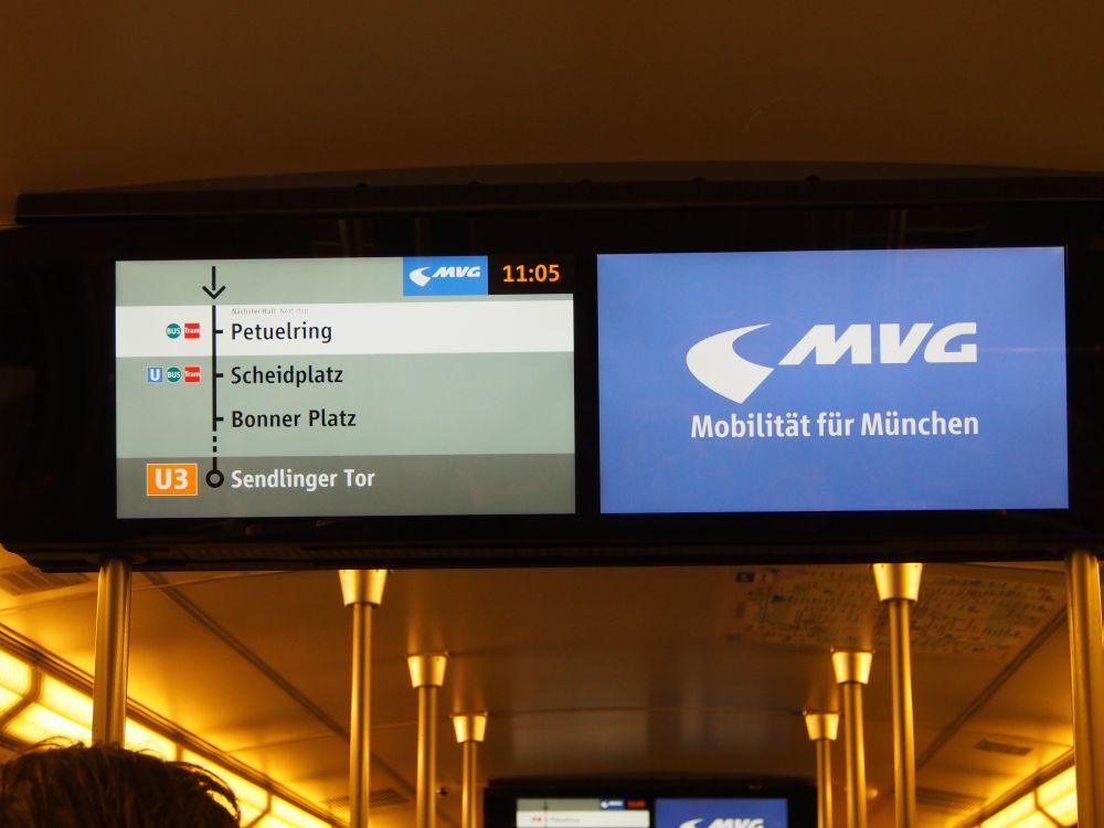 Münchner Fenster: Auf der Jungfernfahrt wird das System der Presse vorgeführt (Foto: TK/ invidis.de)