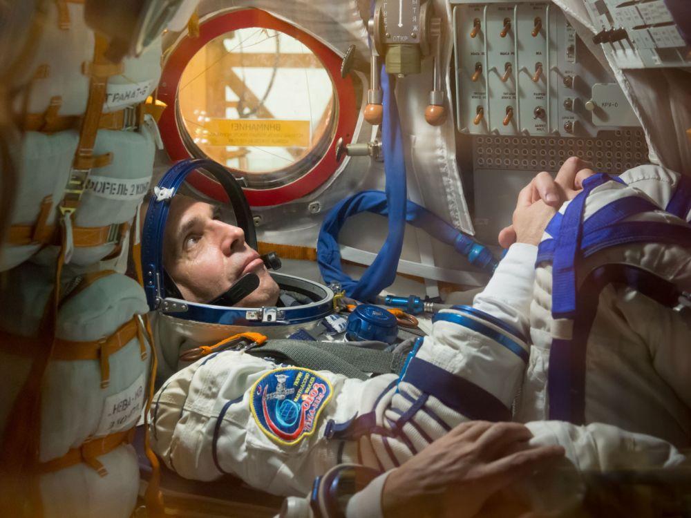 NASA-Astronaut Rick Mastracchio beim Training in Russland (Foto: NASA)