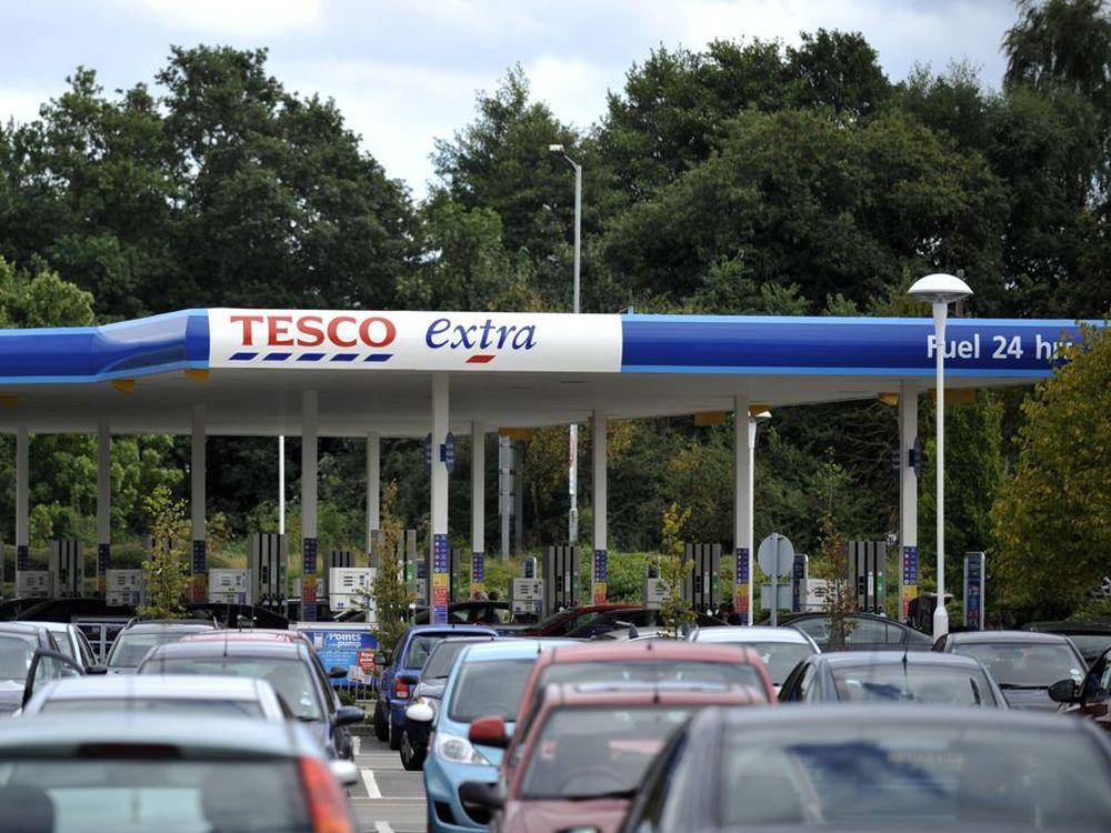 Nationaler Roll-Out: Tesco-Tankstelle in Sandhurst (Foto: Tesco)