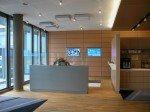Clearstrem Luxemburg: SONUS-Systeme im Empfangsbereich (Foto: SONUS)