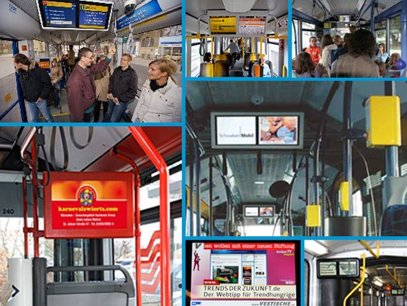 busSpot.com launcht nationales Fahrgast TV Network