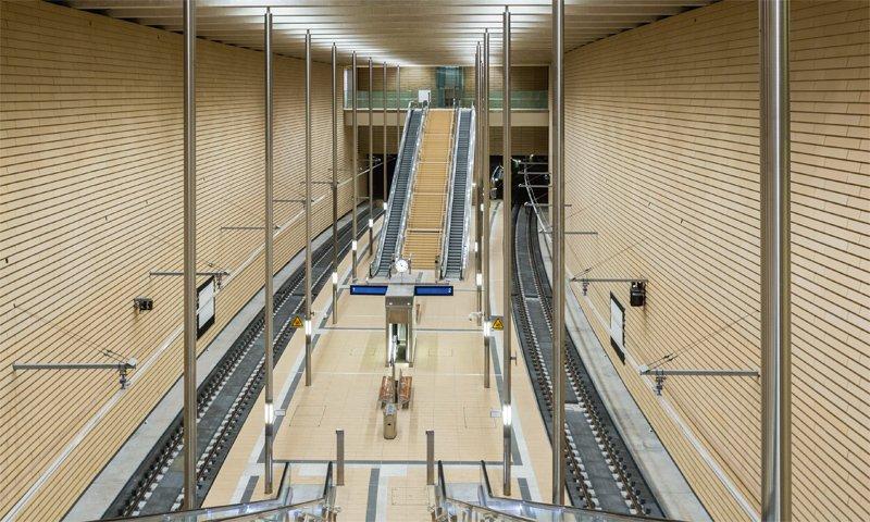 Viel Platz für DooH - neuer Leipzig CIty Tunnel (© Deutsche Bahn AG / Martin Jehnichen)