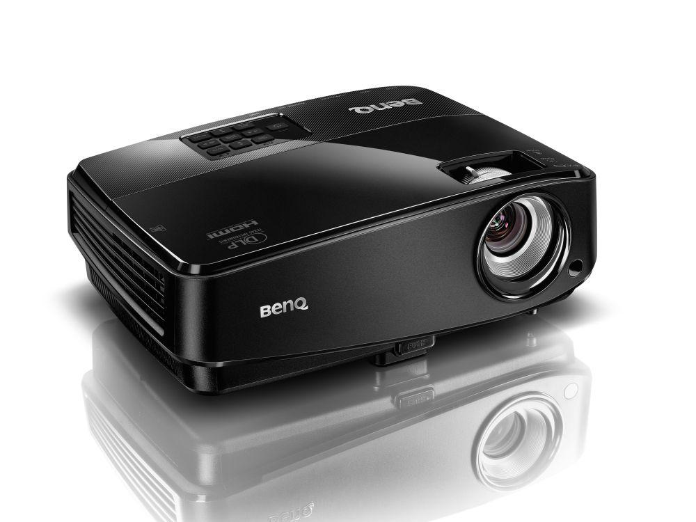 BenQ-Modell MW523: Der WXGA-Projektor löst mit 1280x800 p auf (Foto: BenQ)