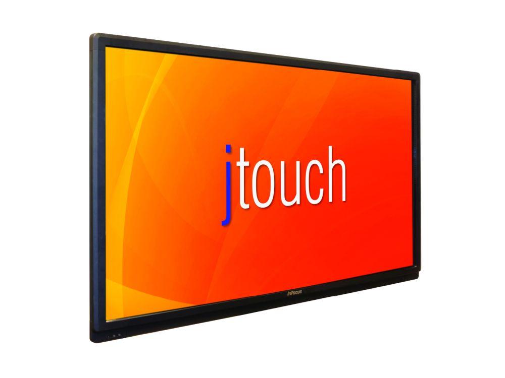 large format displays infocus launcht 70 z ller mit touch panel invidis. Black Bedroom Furniture Sets. Home Design Ideas