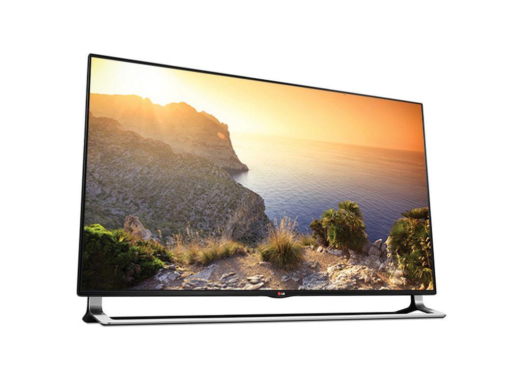 LG-Modell 65LA9700: 3D Smart-TV in 4K Ultra HD-Auflösung für den indischen Markt (LG India)