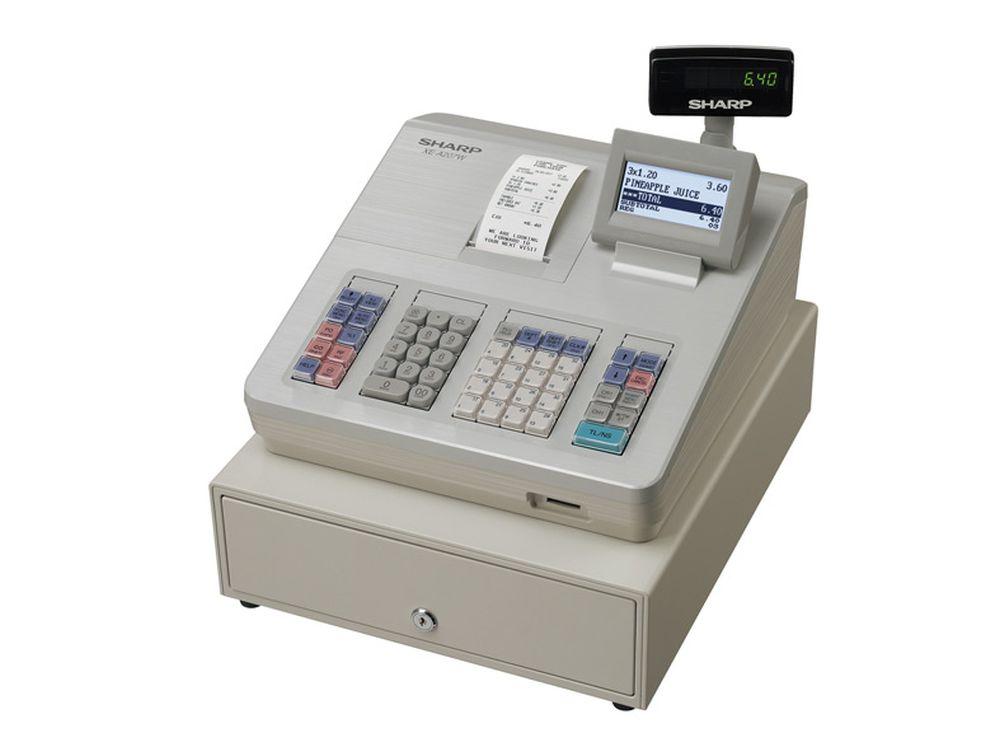 Kassensystem XE-A207W von Sharp (Foto: Sharp)