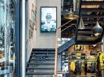 Victorinox: Digital Signage am Treppenaufgang (Foto: Angelika Grossmann/ netvico)