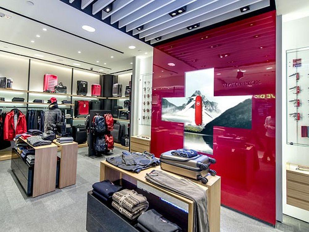 Innenraum eines Shops der Schweizer Marke (Foto: Angelika Grossmann/ netvico)