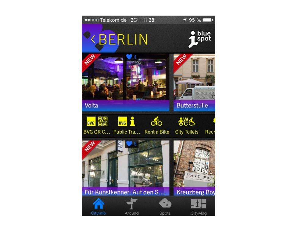 bluespot 2.0 - Für sieben deutsche Städte sind neue Services verfügbar (Foto: WallAG)
