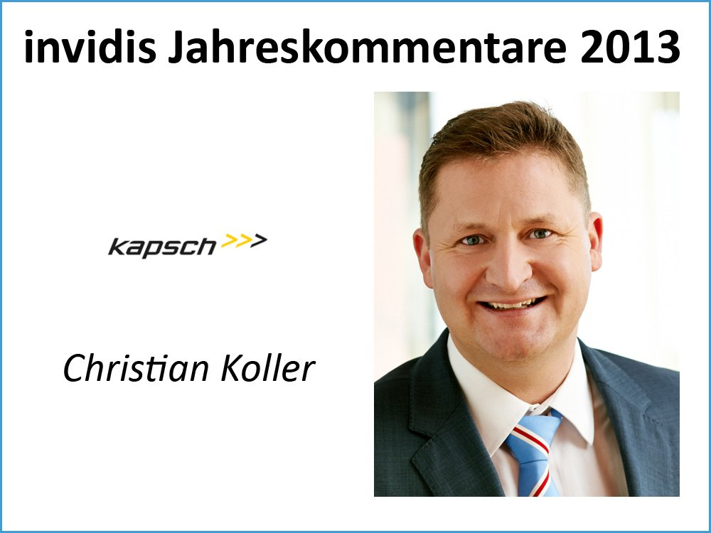 Christian Koller, Kapsch BusinessCom AG