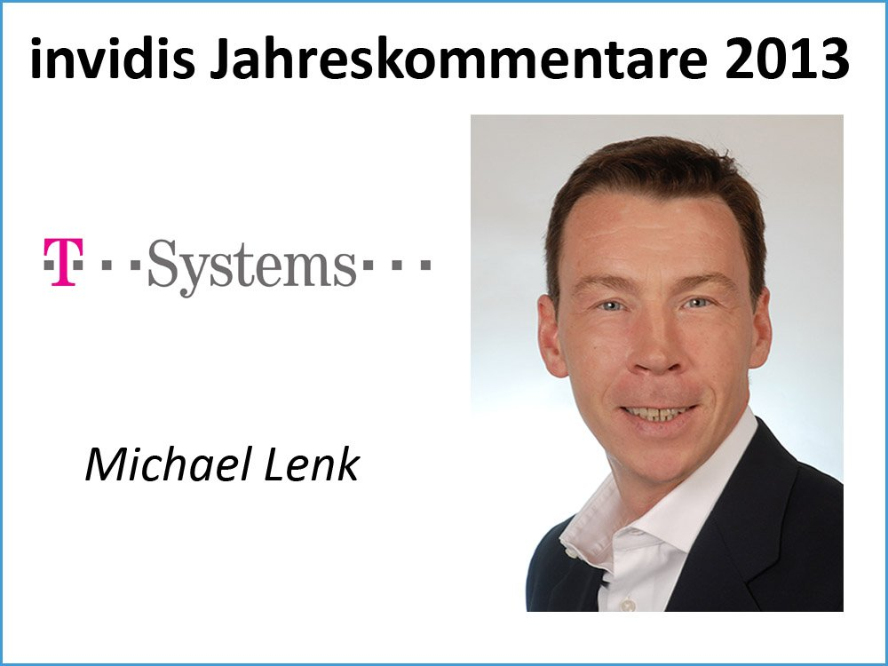 Michael Lenk, T-Systems International GmbH