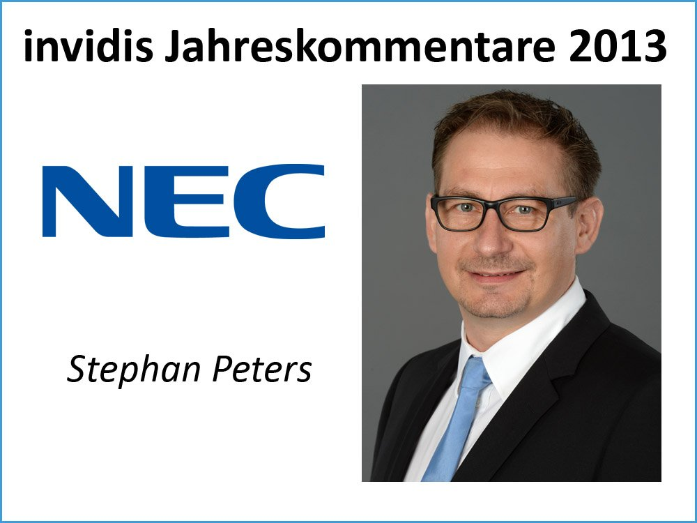 Stephan Peters, NEC Display Solutions Europe